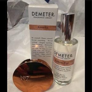 Demeter Fragrance and No. 7 Bronzer